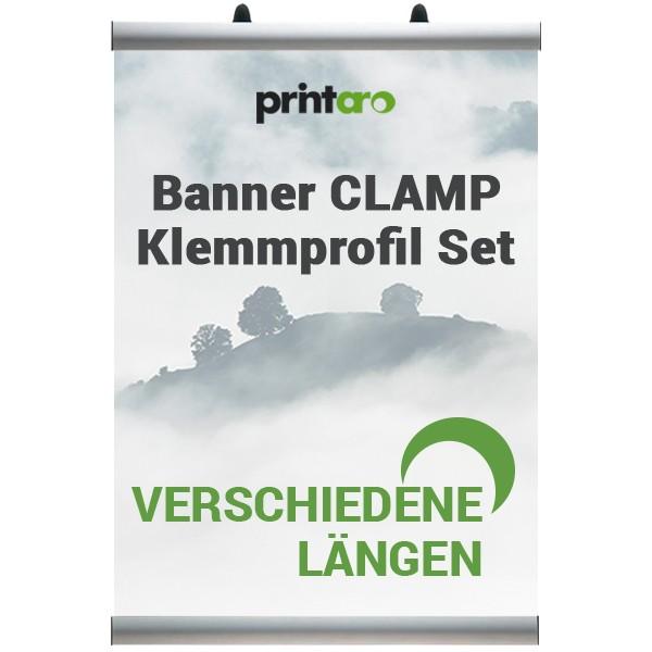 Klemmleiste Snap  /< Klemmprofil Set DIN A4 210 mm />