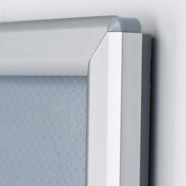 5 x a4 optiframe ALU-pliante cadre 25mm eckprofil incl exploitant//affiche cadre
