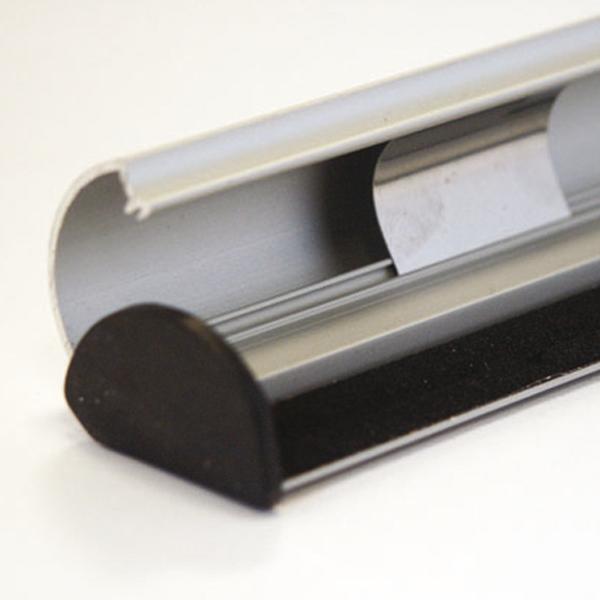 SNAP-Klemmschienen Set aus Aluminium  DIN B0 //1000 mm